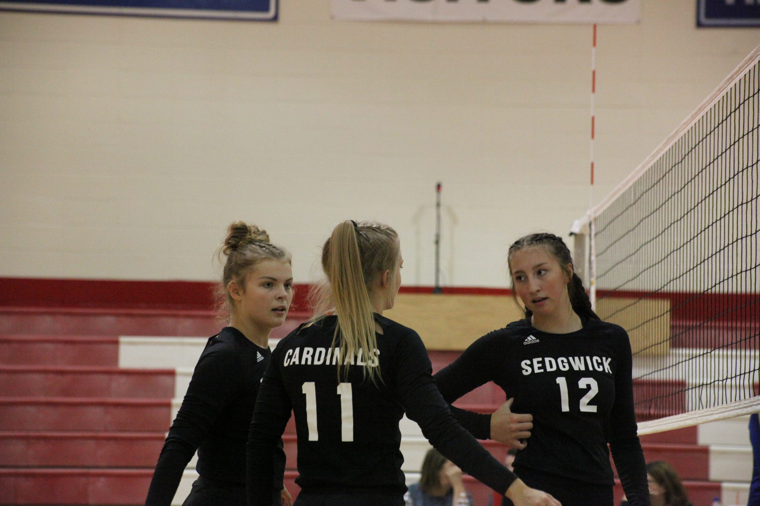 Even shorthanded, Sedgwick volleyball keeps winning