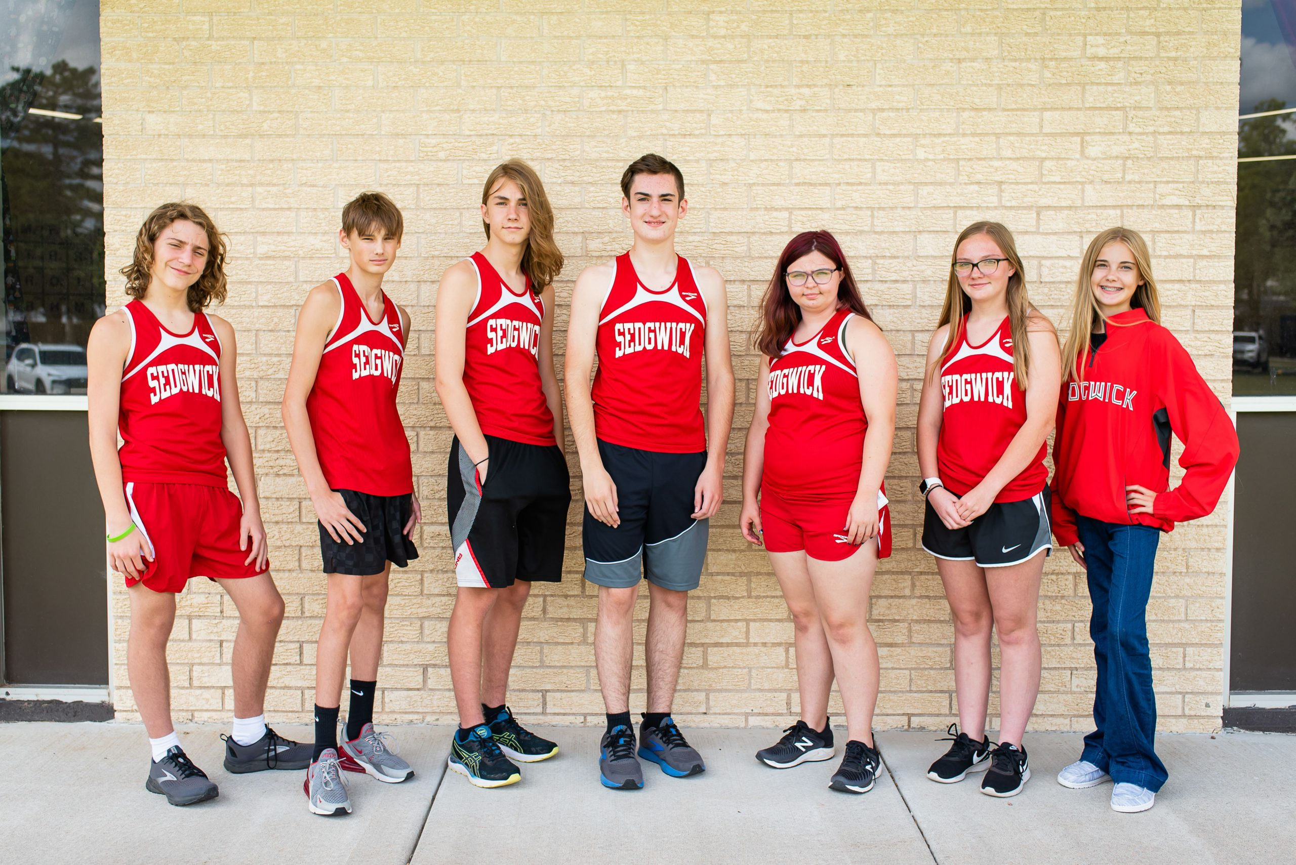 Sedgwick cross country is in rebuilding mode